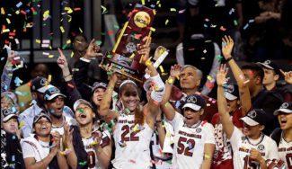 South Carolina, campeón: se lleva el título de la NCAA femenina ante Mississippi State