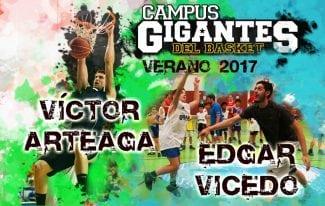 ¡No se lo pierden! Los colegiales Edgar Vicedo y Víctor Arteaga estarán en el V Campus Gigantes en Madrid