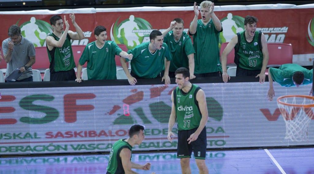 Primera semifinal ya definida en el Campeonato de España Junior: Joventut de Badalona, contra Unicaja de Málaga