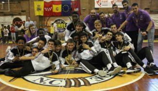 Bestial: Amar Sylla lidera al Real Madrid a ganar su sexto título de Madrid seguido en cadete (Vídeo)