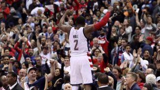 John Wall salva a los Wizards: triple ganador para forzar el séptimo ante los Celtics (Vídeo)