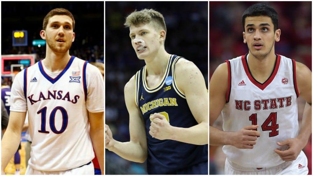 Aparcan el sueño de la NBA: tres europeos se retiran del Draft para seguir en la NCAA