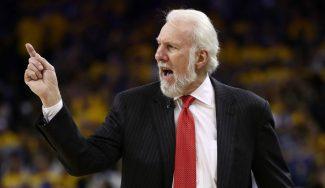 """Popovich, claro tras la paliza de los Warriors: """"No vinimos a jugar, siento lástima"""" (Vídeo)"""