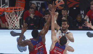 El Madrid naufraga ante el CSKA por ser tercero: triplazos de Higgins y De Colo (Vídeo)