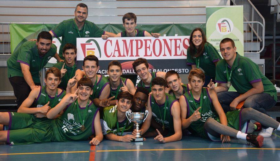 El hijo de Scariolo, campeón de Andalucía con Unicaja cadete: 31 puntos en la final (Vídeo)