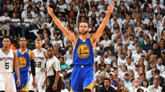 Histórico 4-0 de los Warriors: Curry supera a Kobe y emotiva ovación a Ginobili (Vídeos)