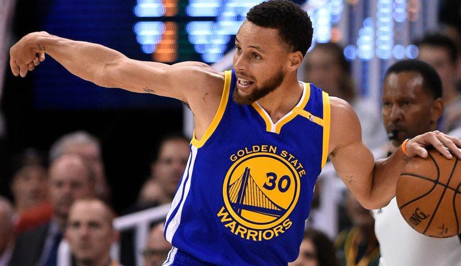 """Los Warriors barren a los Jazz exhibiéndose: """"Steph fue Steph y le alimentamos"""" (Vídeo)"""