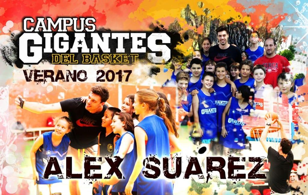 El madridista Álex Suárez también se apunta: ¡estará en el Campus Gigantes 2017 de Madrid!