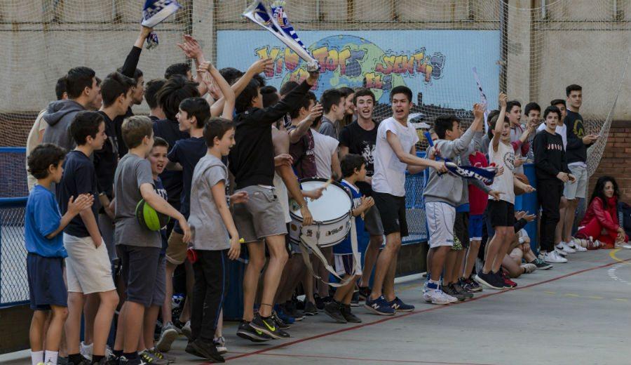 Un éxito: La Copa Colegial, el torneo escolar que triunfa en Barcelona, llega a su fin