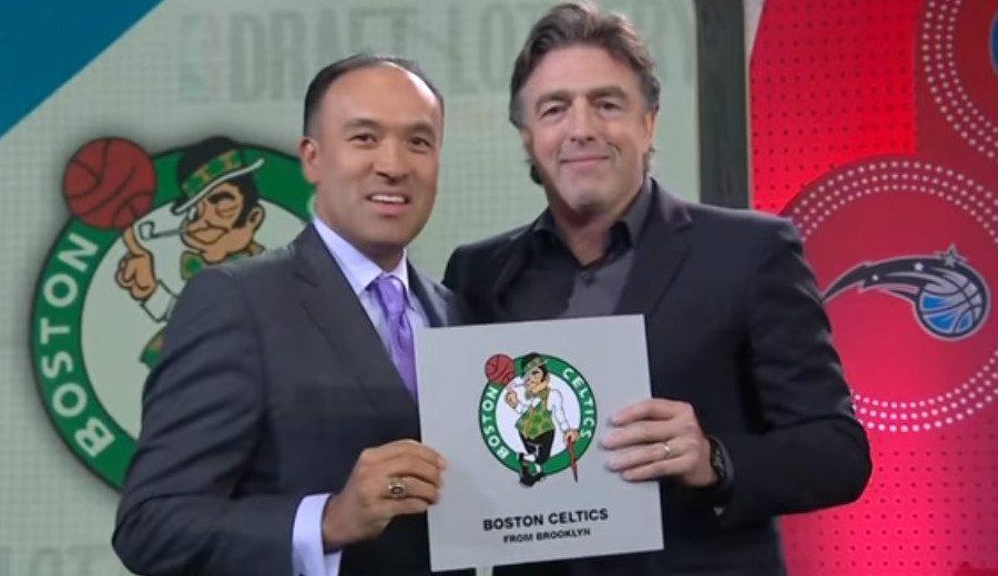 Lotería del Draft NBA: Celtics logran el 1; Kings y Lakers, otros triunfadores (Vídeo)