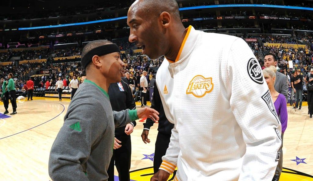 Admirable: Isaiah Thomas revela que Kobe le está ayudando tras la muerte de su hermana