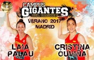 ¡Más madera! Laia Palau y Cristina Ouviña estarán en las sedes de Madrid del Campus Gigantes