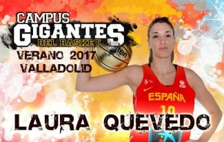 ¡Valladolid la espera! La internacional española Laura Quevedo estará en el Campus Gigantes