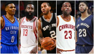 James Harden lidera el Mejor Quinteto NBA; Antetokounmpo y Gobert, con dos Warriors