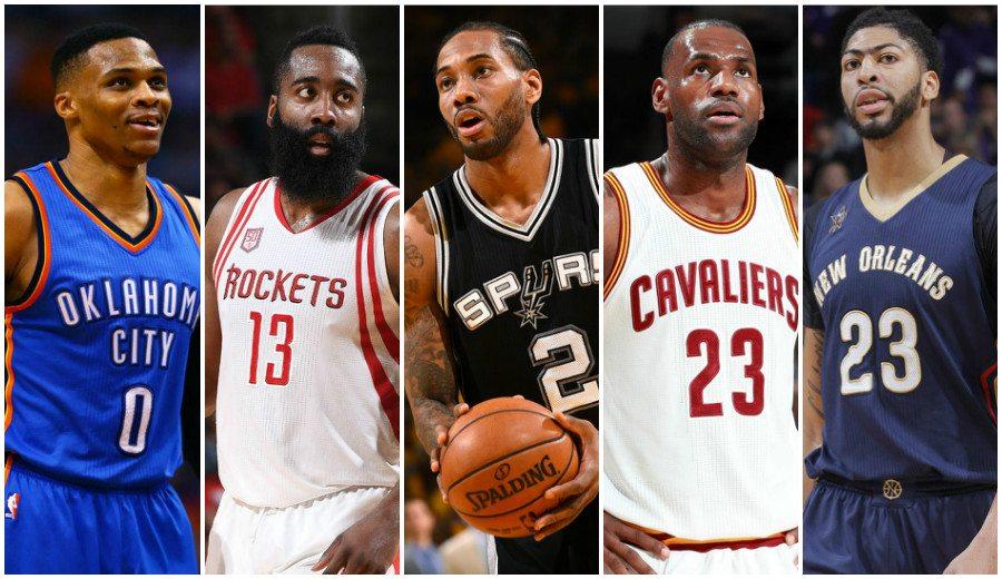 James Harden lidera el Mejor Quinteto NBA; Antetokounmpo y Gobert, con dos Warriors
