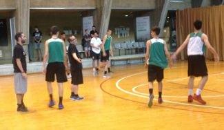 Creer en la cantera: Diego Ocampo dirige entrenos del júnior y el cadete del Joventut