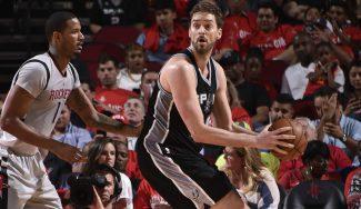 Paliza de los Spurs a Houston para sellar su pase a la final con doble-doble de Pau (Vídeo)