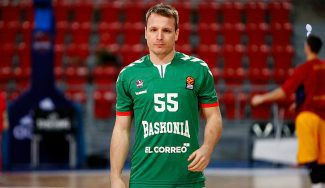 Otra contratiempo en el Baskonia: Rafa Luz se lesiona en el entreno y estará 6 meses de baja