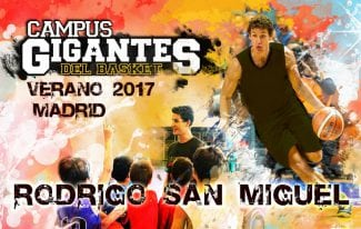 Otro campeón de la Champions en el Campus Gigantes: Rodrigo San Miguel repite en las sedes de Madrid