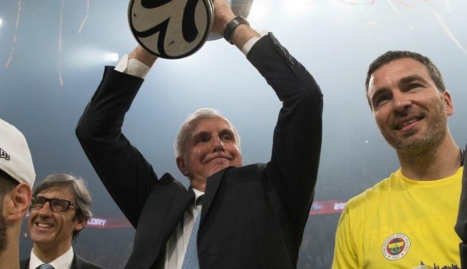 """Obradovic ya piensa en su siguiente reto: """"El año que viene la Final Four es en mi ciudad"""""""