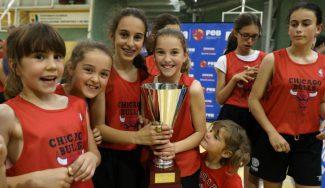 El Colegio Antonio Machado – Chicago Bulls triunfa: campeón de la Liga JR.NBA-FEB en Burgos