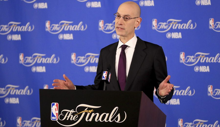 Adam Silver sobre el futuro de la NBA: Warriors, playoffs, límite de edad
