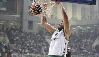 El Panathinaikos fuerza el quinto: Bourousis  hace malabares y se lleva un gorrazo (Vídeo)