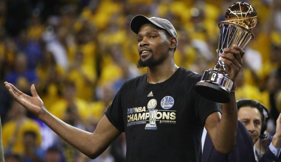 """El MVP Durant se ve a la altura de LeBron: """"Es el único que me puede mirar cara a cara"""""""