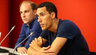 Prigioni, presentado en Vitoria: su nuevo rol, sus referentes y la posible vuelta de Scola