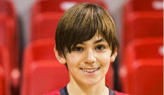 Asombroso: David Cartiel, jugador infantil del Tecnyconta Zaragoza… ¡ y campeón de España de Atletismo!