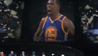 Callando bocas: espectacular anuncio de Nike por el primer anillo de Kevin Durant (Vídeo)