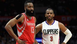 Chris Paul cambia los Clippers a los Rockets: LeBron no tarda en felicitarle por el traspaso
