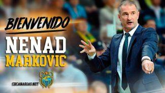 El bosnio Nenad Markovic, nuevo técnico del Iberostar Tenerife: jugó 144 partidos en ACB