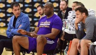 """Los Lakers, a por todas: """"En 2018 podremos fichar a dos jugadores de salario máximo"""""""