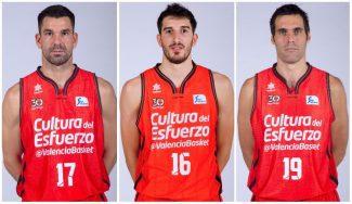El campeón Valencia renueva a tres pilares de golpe: Rafa Martínez, Vives y San Emeterio