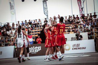 ¡A cuartos invictas! La selección Sub-18 de 3×3 impresiona en el Mundial de China