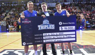Redivo, campeón del concurso de triples en Argentina: así enchufa el escolta del Bilbao