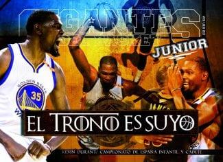 La Gigantes Junior de este mes. De la excelencia de Kevin Durant al reinado del Real Madrid
