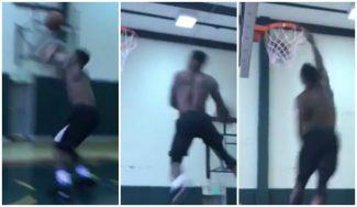 «33 años y aún me queda mucho». Mate con mensaje a la NBA de Nate Robinson (Vídeo)