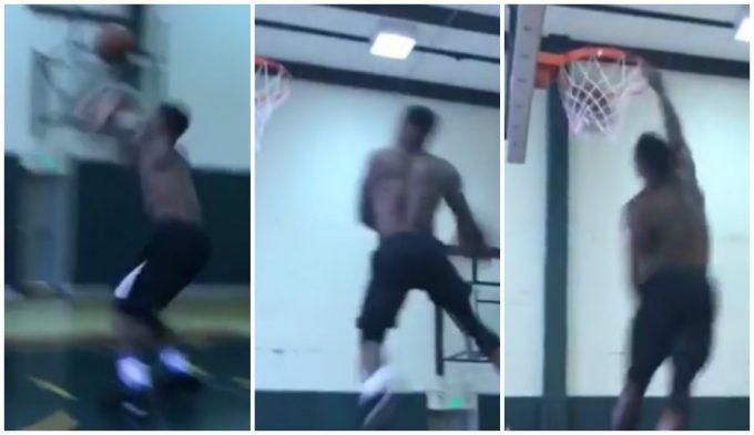 """""""33 años y aún me queda mucho"""". Mate con mensaje a la NBA de Nate Robinson (Vídeo)"""