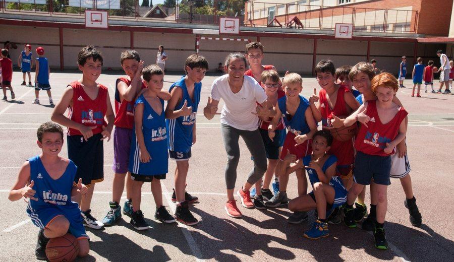 Laia Palau habla en el Jr NBA Gigantes Camp: Eurobasket, retirada y su marcha a Australia