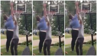 El GM de los Celtics Danny Ainge, posterizado por su hijo en el desafío de moda en la NBA (Vídeo)