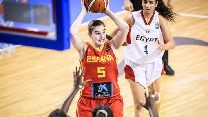 España suda para vencer a Egipto y finaliza segunda la primera fase del Mundial Sub-19