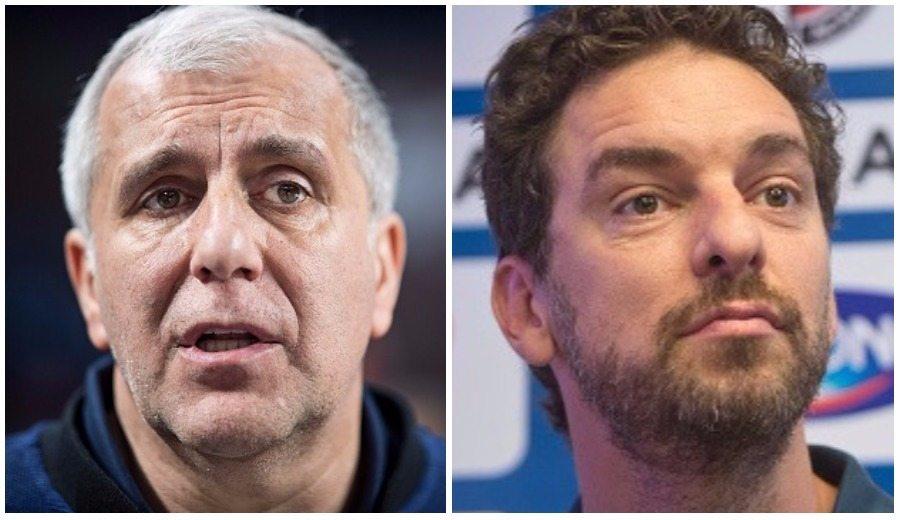 Obradovic y Pau hablan de las ventanas FIBA: «Nadie piensa en la salud de los jugadores»
