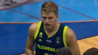 Doncic vuelve a salirse con Eslovenia: brutal tapón a un ex ACB y récord anotador (Vídeo)