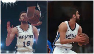 Los hermanos Gasol, entre los protas del primer tráiler oficial del NBA 2K18 (Vídeo)