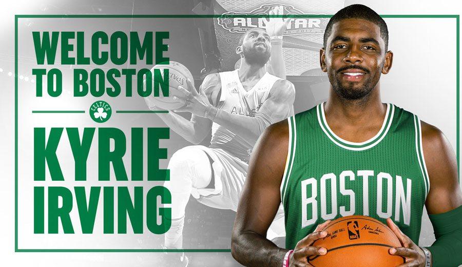 Megatraspaso Cavs-Celtics con dato curioso: Irving por Thomas, Crowder y el croata Zizic