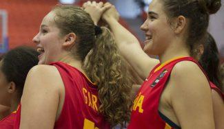 Exhibición de España para arrasar a Lituania en el estreno del Europeo Sub-16 (Vídeo)