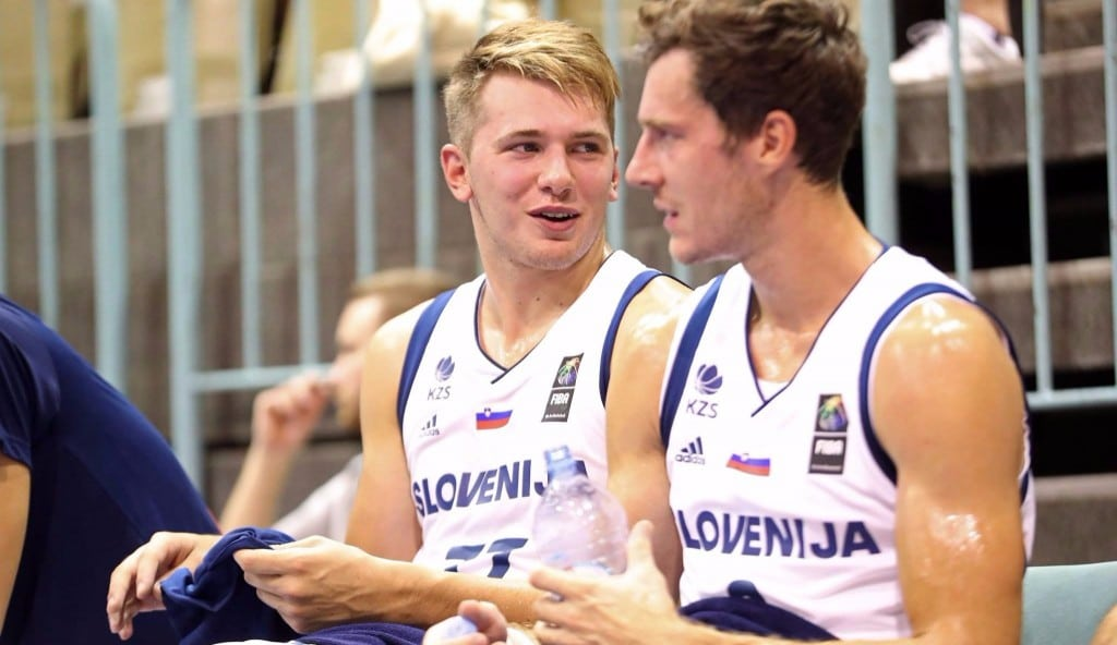 Doncic se supera ante Croacia pero no basta: recital del dúo NBA Saric-Bogdanovic (Vídeo)