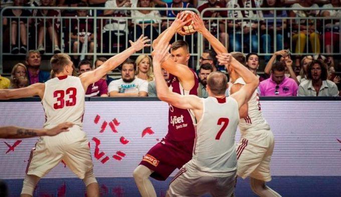 Porzingis se sale en su debut con la absoluta de Letonia: 24 puntos y 12 rebotes (Vídeo)